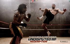 Обои Скотт Эдкинс, Scott Adkins, бокс, Undisputed III, Redemption, Неоспоримый 3, Yuri Boyka, ринг