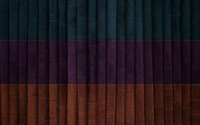 Обои синий, темный, текстура, оранжевый, полосы, фиолетовый