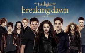 Картинка Кристен Стюарт, Тэйлор Лотнер, Роберт Паттинсон, vampires, Movie, The Twilight Saga Breaking Dawn Part 2
