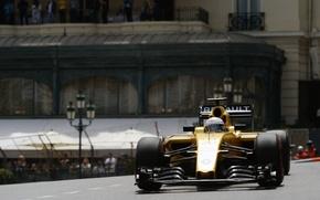 Картинка Renault, Formula 1, Monte Carlo, Передок, Magnussen