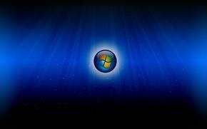 Картинка desktop, microsoft, big, blue windows