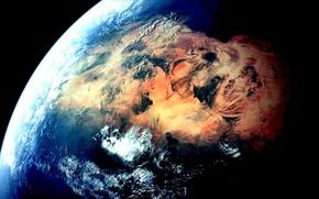 Картинка планета, Земля, пустыня Сахара