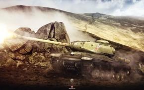 Картинка Игры, Арт, World of Tanks, Wargaming Net, FuriousGFX