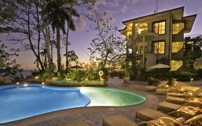 Картинка pool, villa, Costa Rica