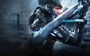 Обои Ниндзя, Metal Gear, Киборг, Raiden, Rising, Metal Gear Rising: Revengeance