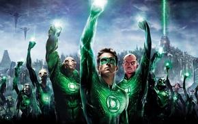 Картинка Green Lantern, Зеленый фонарь, DC comics, DC universe, Hal Jordan, Синестро, Хэл Джордан, корпус зеленого …