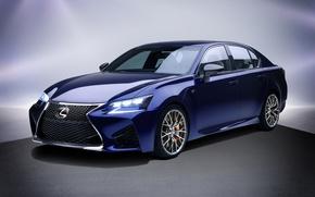 Обои Lexus, лексус, GS F, фон