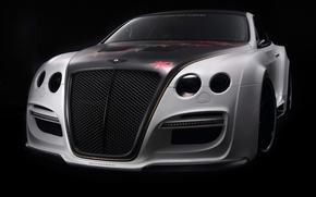 Картинка черный, тюнинг, Bentley, Continental GT