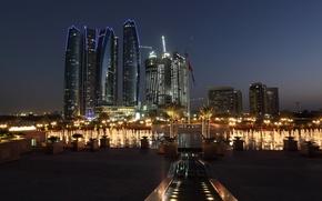 Картинка фонтан, отель, Эмираты, Arab Emirates