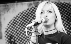 Картинка Girl, Wallpaper, Eyes, Blonde, Photo, Concert, Jenna McDougall, Tonight Alive, Look, Singer, Hairs, Multi-Monitors, Pop-Punk, …