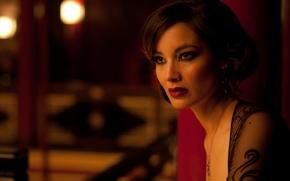 Картинка взгляд, актриса, Skyfall, Беренис Марло, 007 Координаты «Скайфолл», Bérénice Marlohe