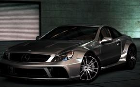 Картинка Cars, NFS Hot Pursuit 2010, mercedes sl65, Сидж