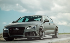 Картинка Audi, Track, RS7, Spec, ADV5.0