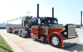 Картинка custom, truck, peterbilt, great america truck show