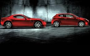 Картинка auto, mixed, Alfa romeo