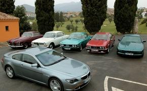 Картинка BMW, автомобили, много