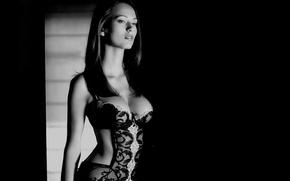 Картинка грудь, девушка, модель