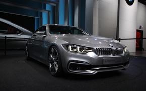 Картинка машина, купе, concept, BMW, БМВ, coupe, 4 series