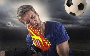 Обои спорт, футбол, ситуация
