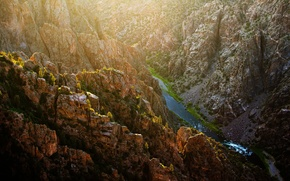 Картинка USA, Colorado, Gunnison National Park, Black Canyon