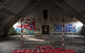 Картинка спорт, ворота, зал