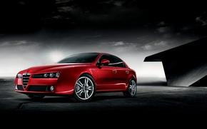Обои фон, Авто, темно красный