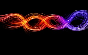Обои свет, абстракция, узоры, краски, colors, линий, light, patterns, 1920x1200, lines, abstraction