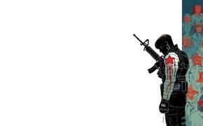 Картинка Winter Soldier, Bucky Barnes, Зимний солдат, Баки Барнс