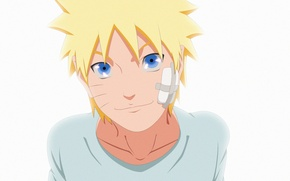 Картинка white, game, happy, Naruto, smile, anime, blue eyes, man, boy, blonde, ninja, hero, asian, cute, …