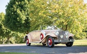 Картинка Ретро, Кабриолет, Автомобиль, Coupe, 1931, Convertible, Packard Deluxe Eight, by LeBaron