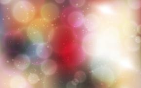 Картинка цвета, свет, круги