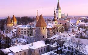 Обои Эстония, Таллин, Дыра в крыше :)