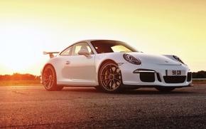 Картинка 911, Porsche, порше, GT3, UK-spec, 991, 2014