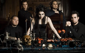 Обои Amy Lee, Evanescence, The Open Door