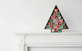 Картинка праздник, ёлка, декорация