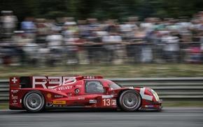 Картинка Красный, Профиль, Размытие, WEC, 24H Le Mans