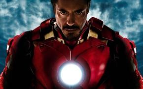 Картинка Iron Man, wall, Железный человек, Фильм, Роберт Дауни мл., Avengers, кино, обои, Мстители, wallpaper, Robert ...