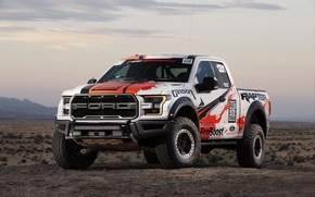 Картинка Raptor, 2017, Ford F-150, Race Truck