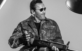 Картинка Арнольд, Шварценеггер, Arnold, Schwarzenegger, The Expendables 3, Неудержимые 3