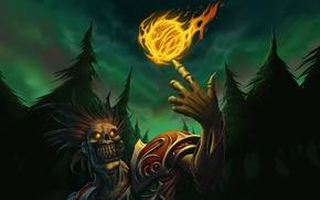 Картинка WoW, World of Warcraft, undead, fireball