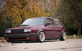 Картинка Volkswagen, Golf, Tuning, Mk2 GTI