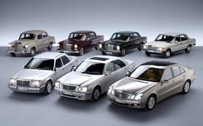 Картинка Mercedes-Benz, Mercedes, E-class, E-Klasse, W211, W123, E-класс, W210, Executivklasse, Лупатый, Глазастый, W124, W120, W110, W115, …