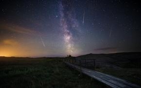 Картинка звёзды, небо, персеиды