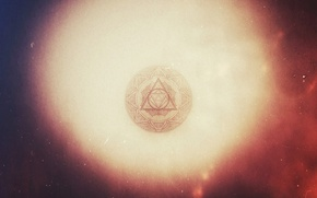 Картинка Треугольник, Minimal, Геометрия, Triangle, Geometry