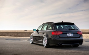 Картинка Audi, ауди, side, black