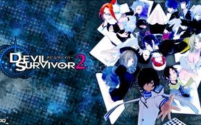 Картинка Аниме, Наследник Дьявола, The Animation, Devil Survivor 2