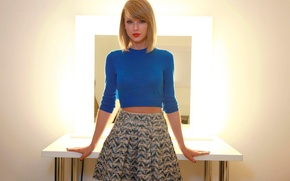 Картинка Taylor Swift, юбочка, Le Parisien, октябрь 2014