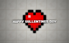 Картинка happy, minecraft, valentin