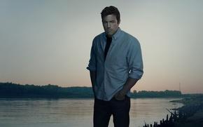 Картинка река, актер, Бен Аффлек, Ben Affleck, Исчезнувшая, Gone Girl