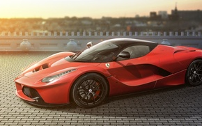 Картинка Ferrari, LaFerrari, by jackdarton, HRE Performance Wheels